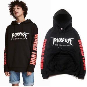 Justin Bieber H&M sweatshirt